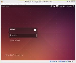 Change Desktop Environment