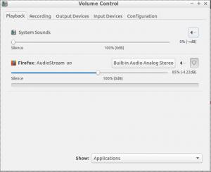 setup input output sound